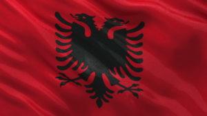 Албания флаг